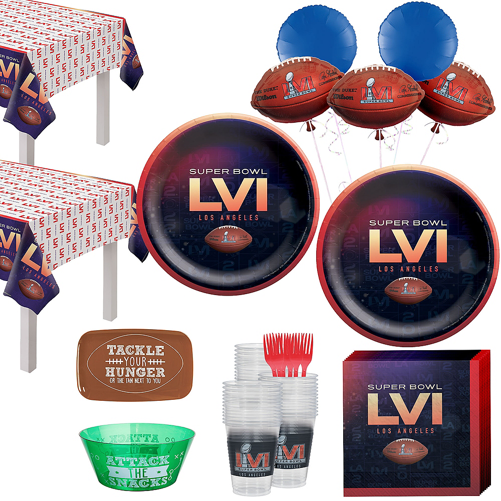 Super Bowl Ultimate Party Kit for 36 Guests Image #1