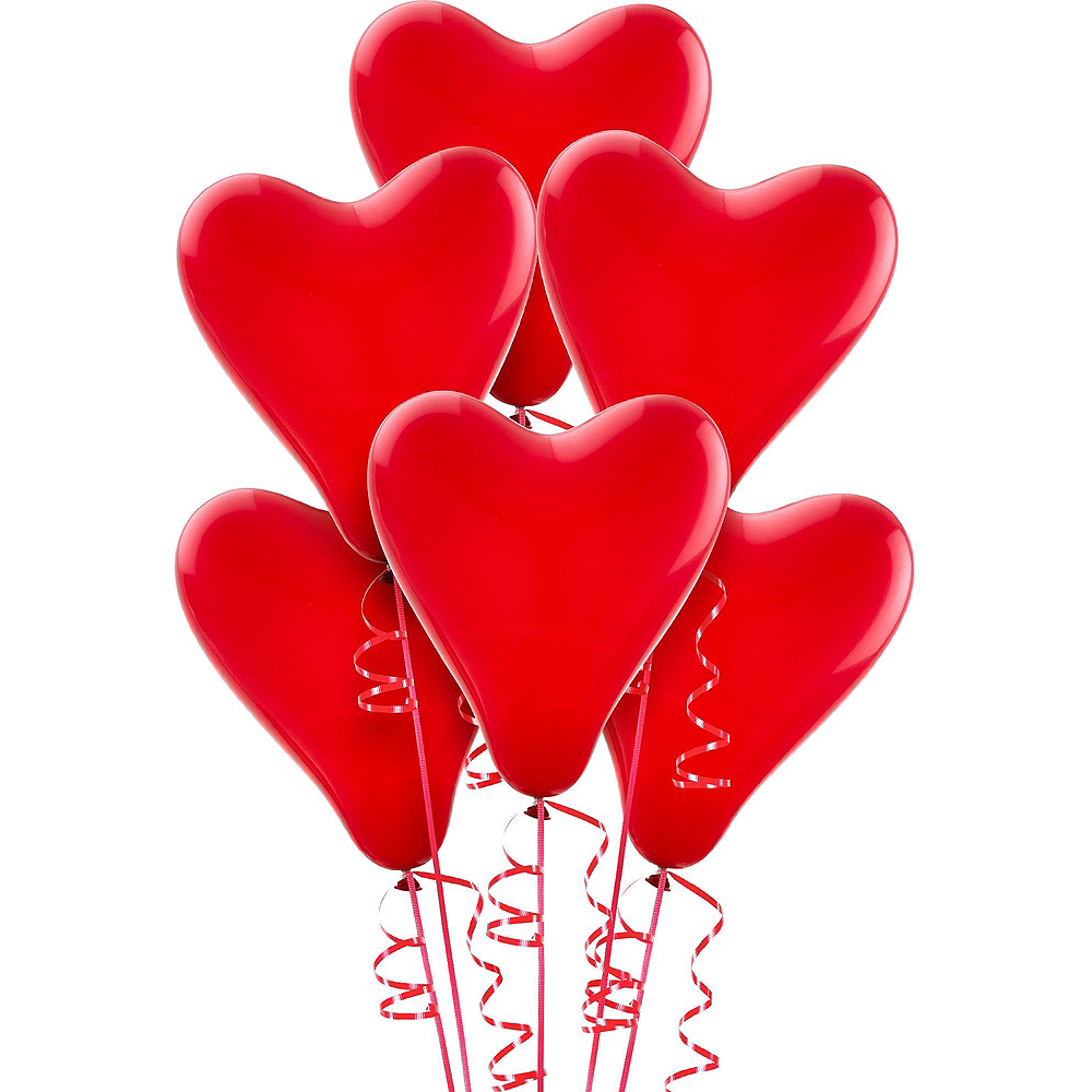 13in Air-Filled Gold I Love You Letter Balloon Kit Image #2