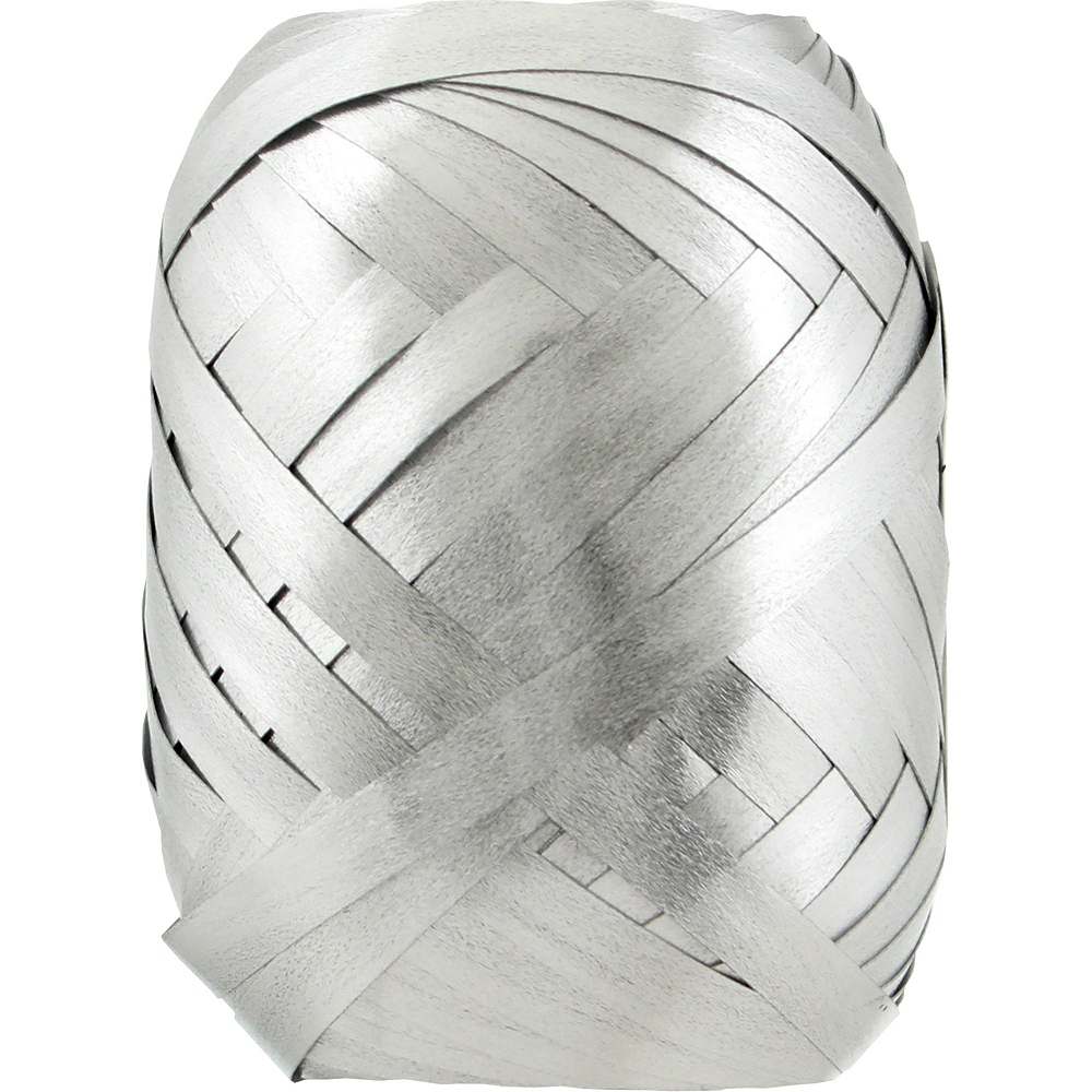 13in Air-Filled Silver Pride Letter Balloon Kit Image #7