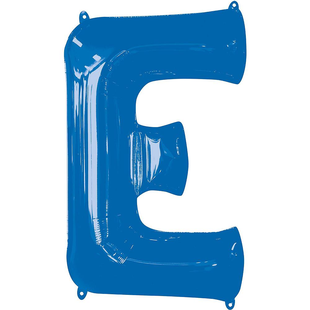 34in Blue Pride Letter Balloon Kit Image #4