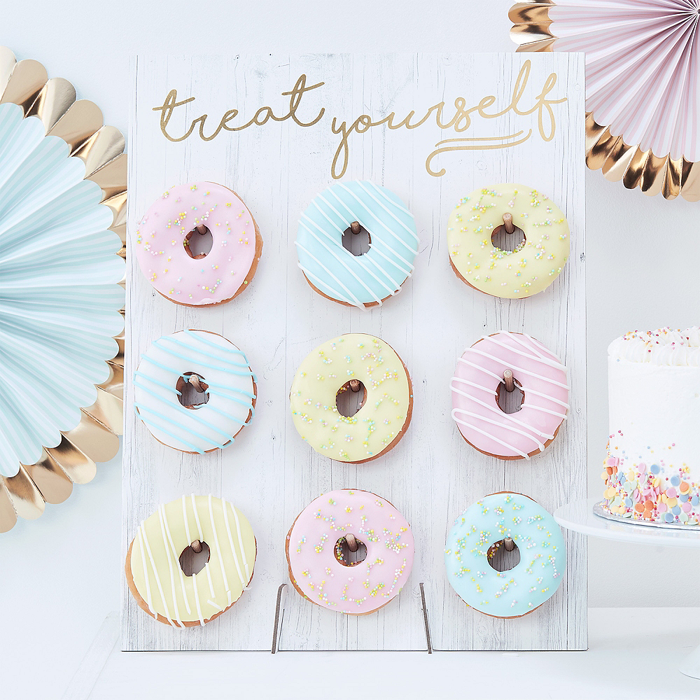 Ginger Ray Treat Yourself Donut Wall Kit 10pc Image #1