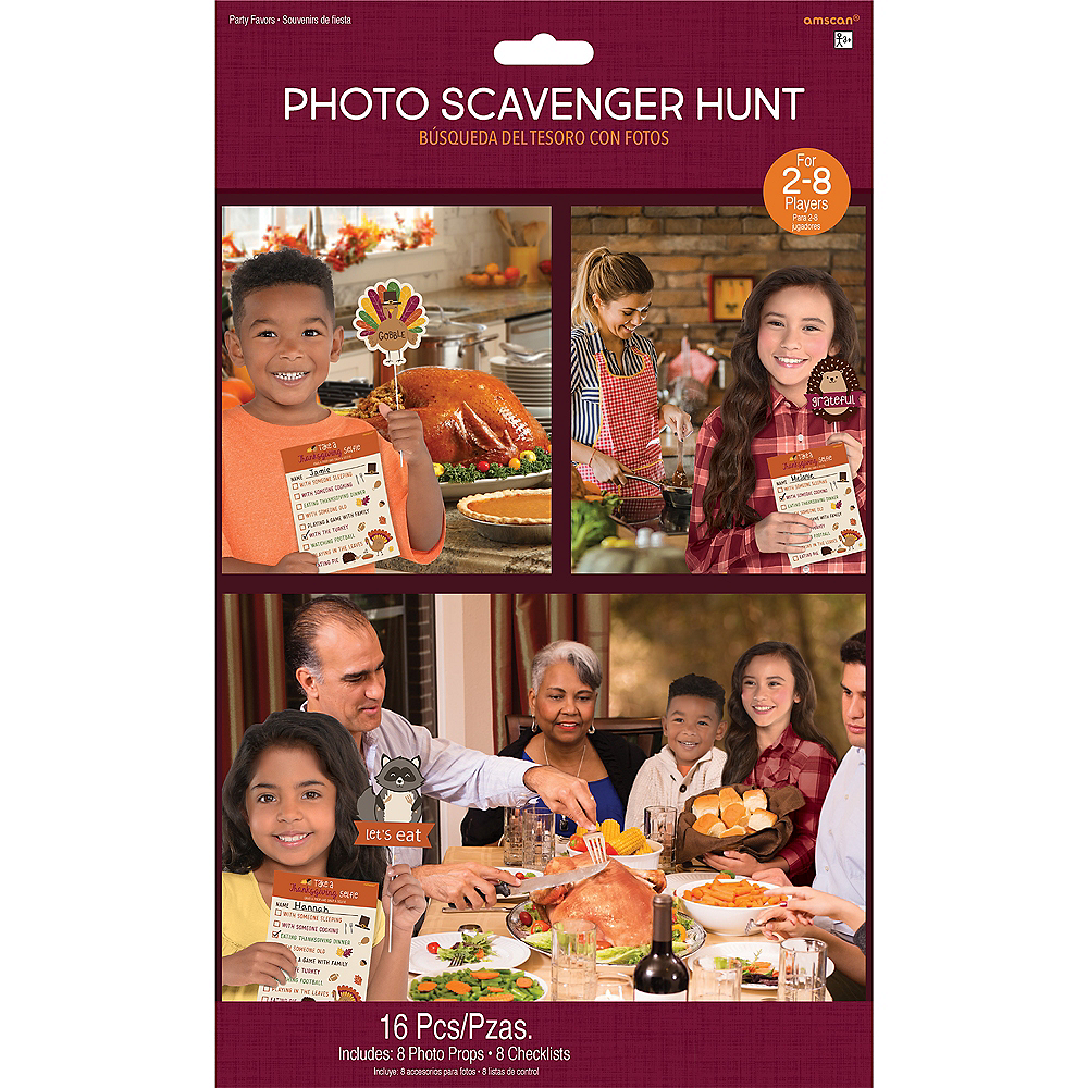 Thanksgiving Scavenger Hunt Photo Props Image #3