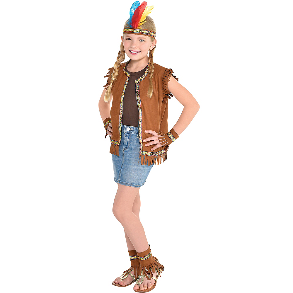 Child Native American Costume Accessory Kit Image #1
