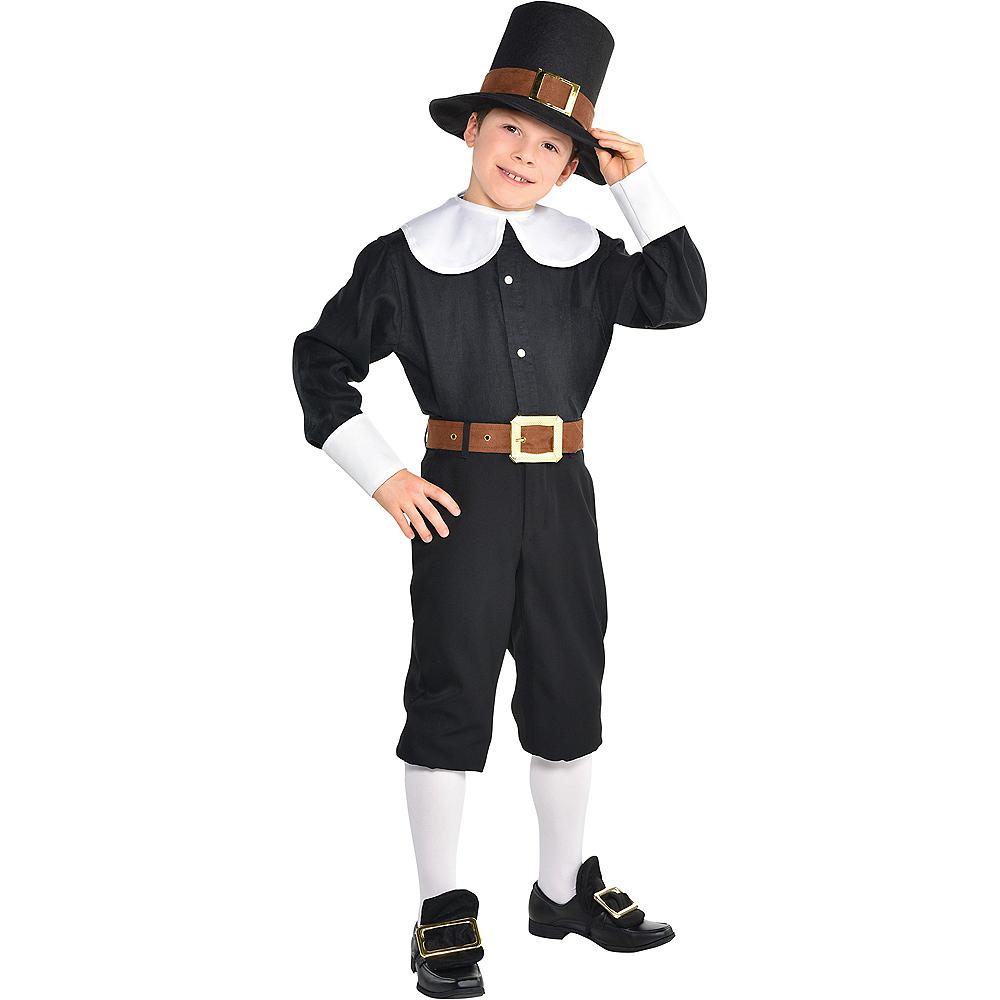 Child Pilgrim Costume Accessory Kit Image #1