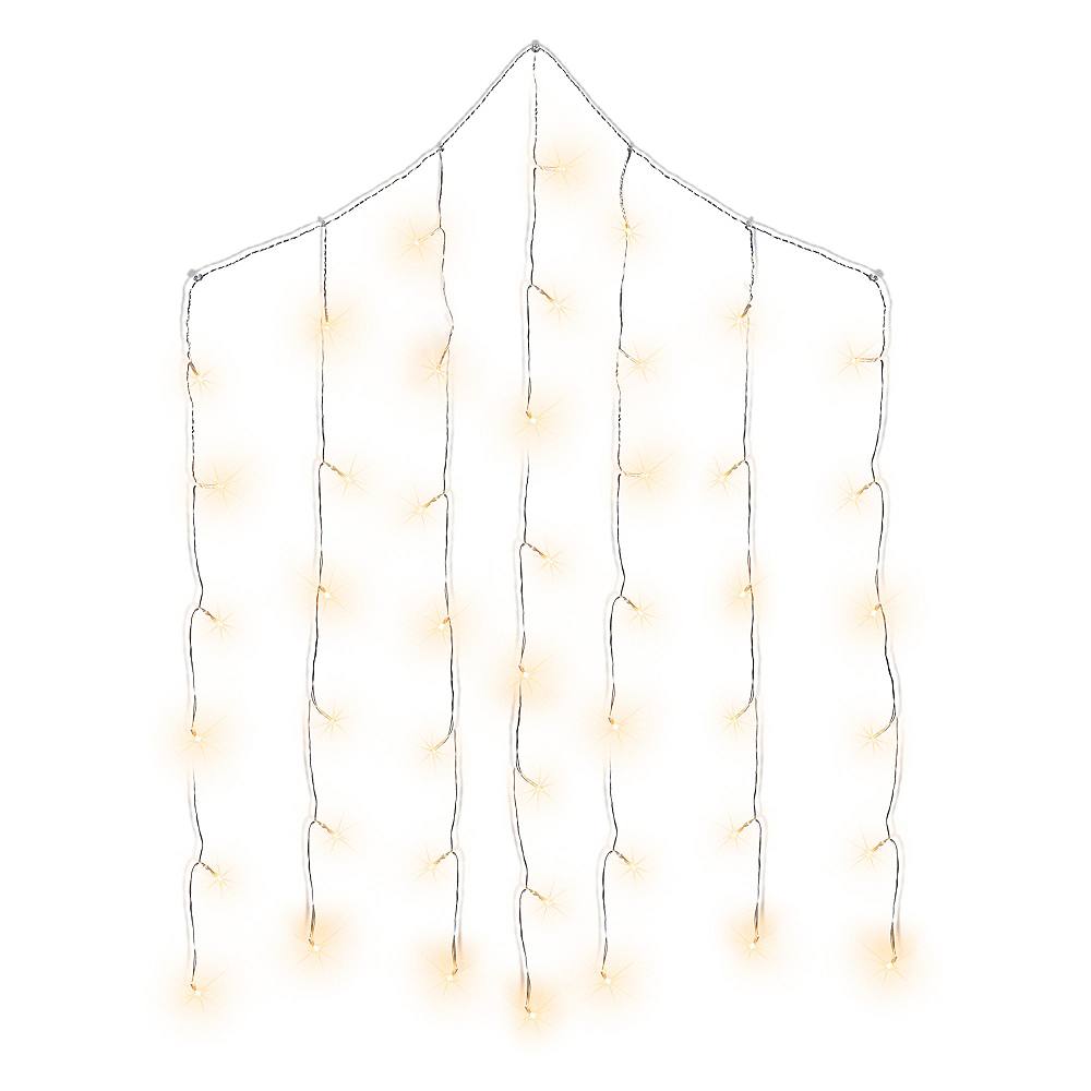 Cascading Curtain LED String Lights Image #1