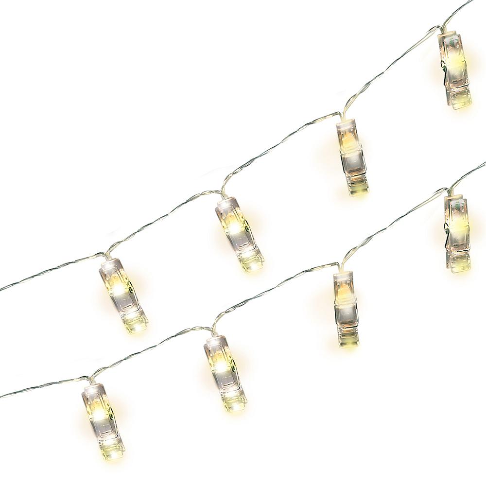 Photo Clip LED String Lights Image #1