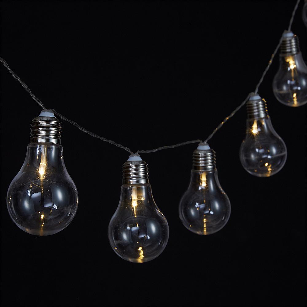 Edison Lightbulb LED String Lights Image #2