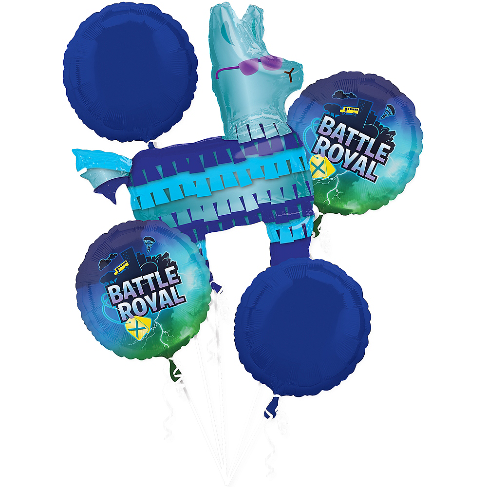 Battle Royal Balloon Bouquet 5pc Image #1