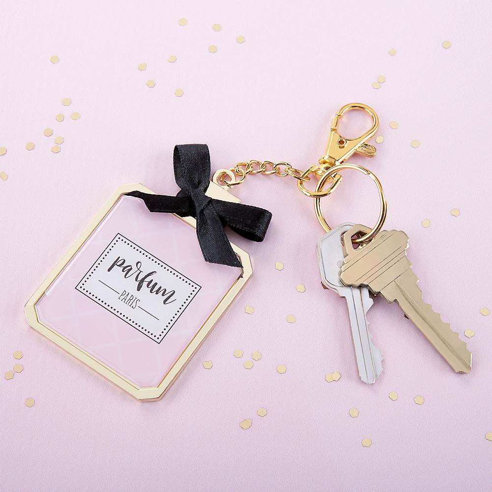 French Perfume Keychain Image #2