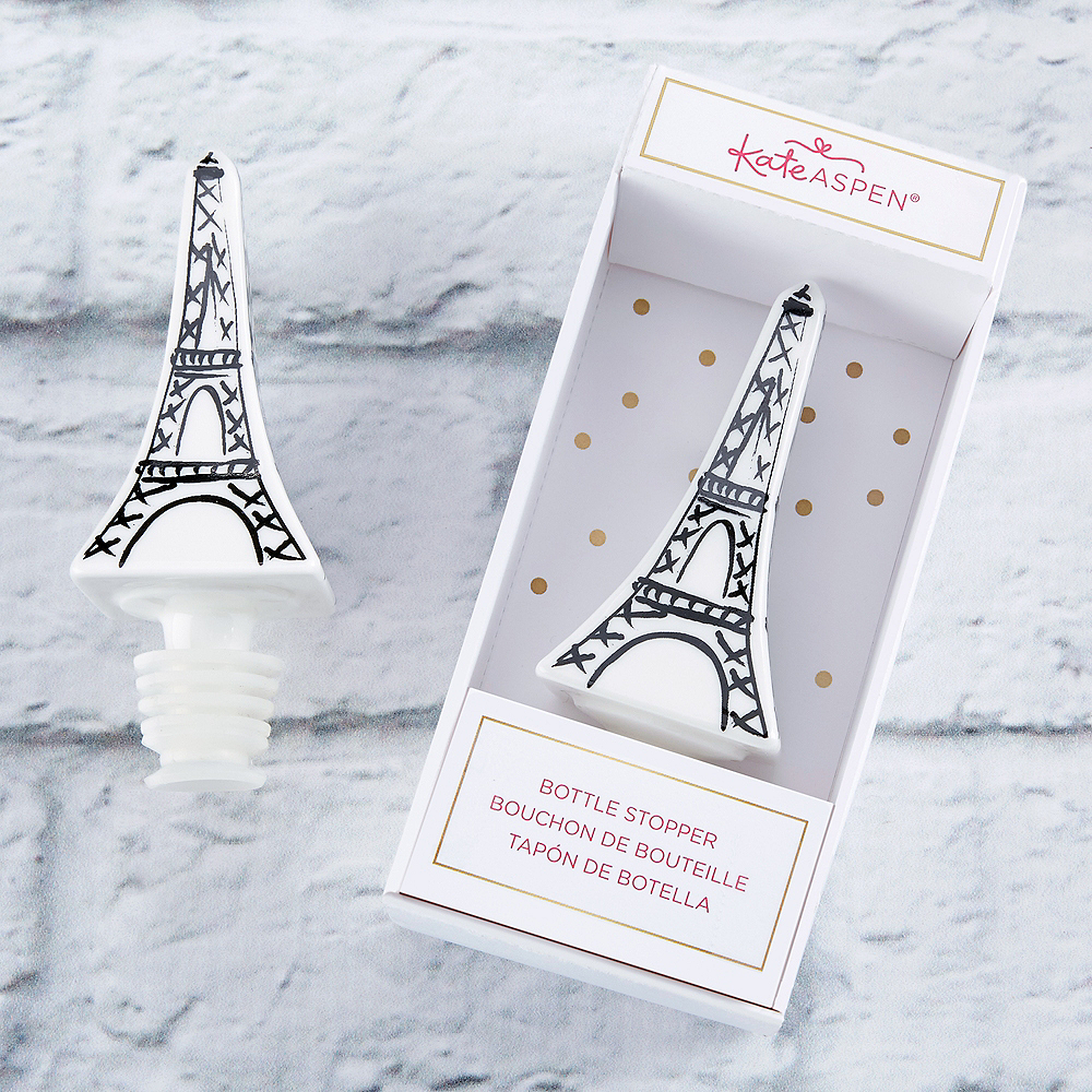 Eiffel Tower Bottle Stopper Image #1