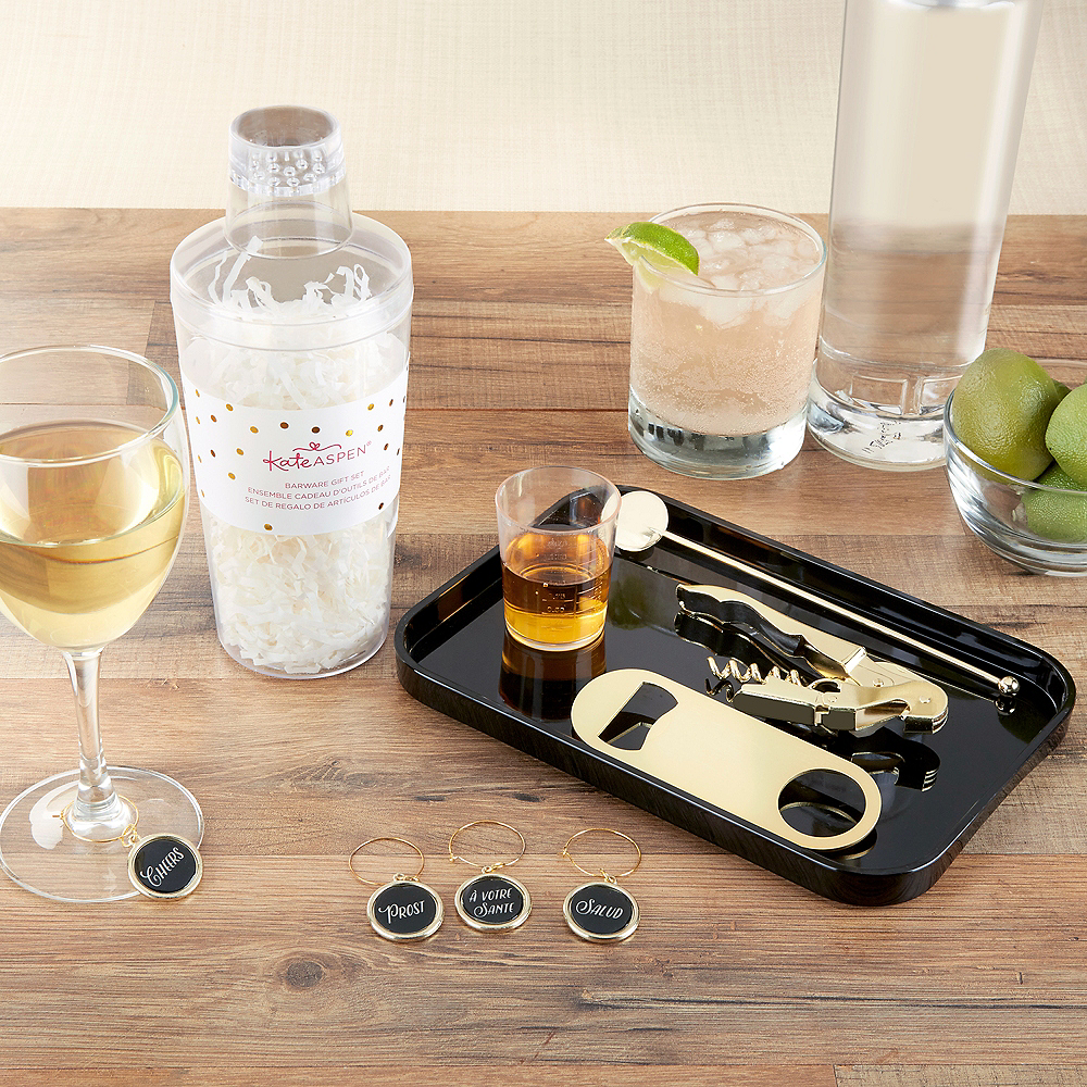 Gold Cocktail Gift Set 8pc Image #2