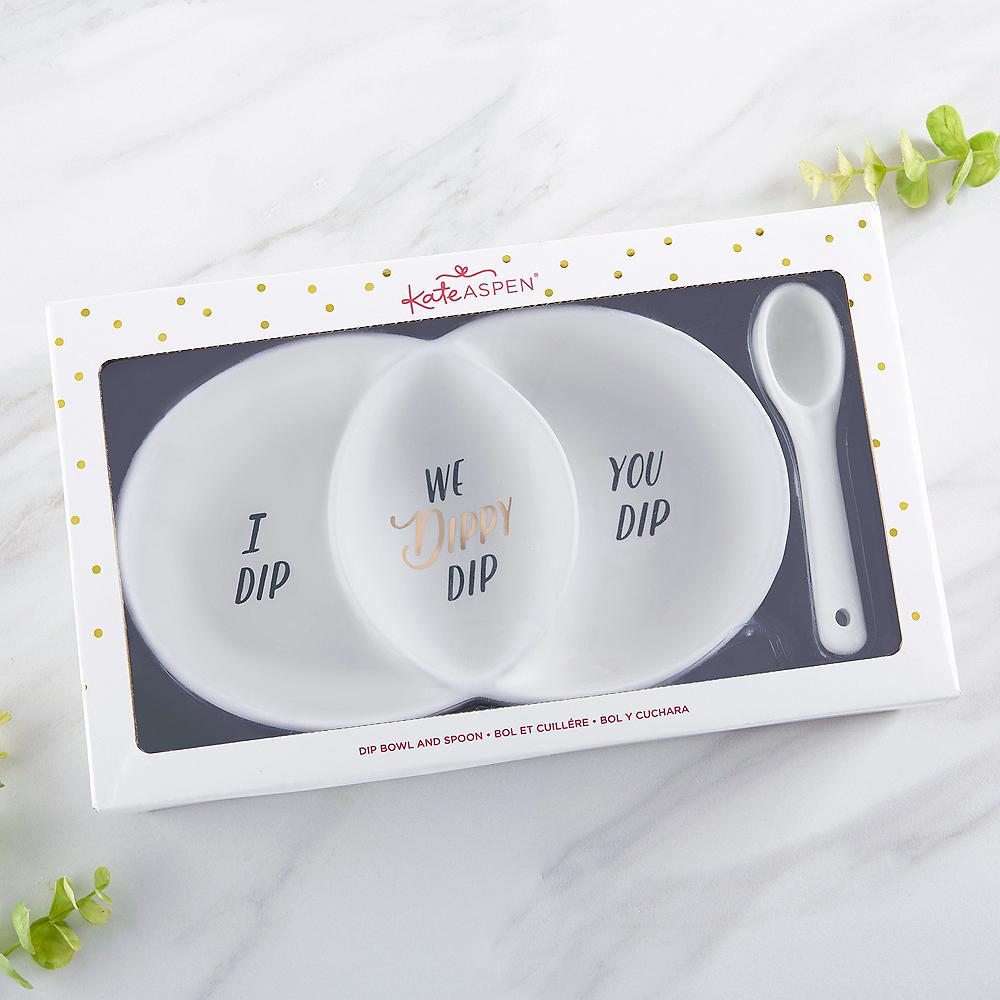 We Dippy Dip Bowl & Spoon Set 2pc Image #3