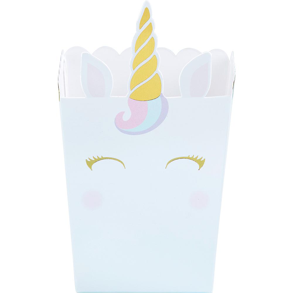Unicorn Popcorn Treat Boxes 12ct Image #1