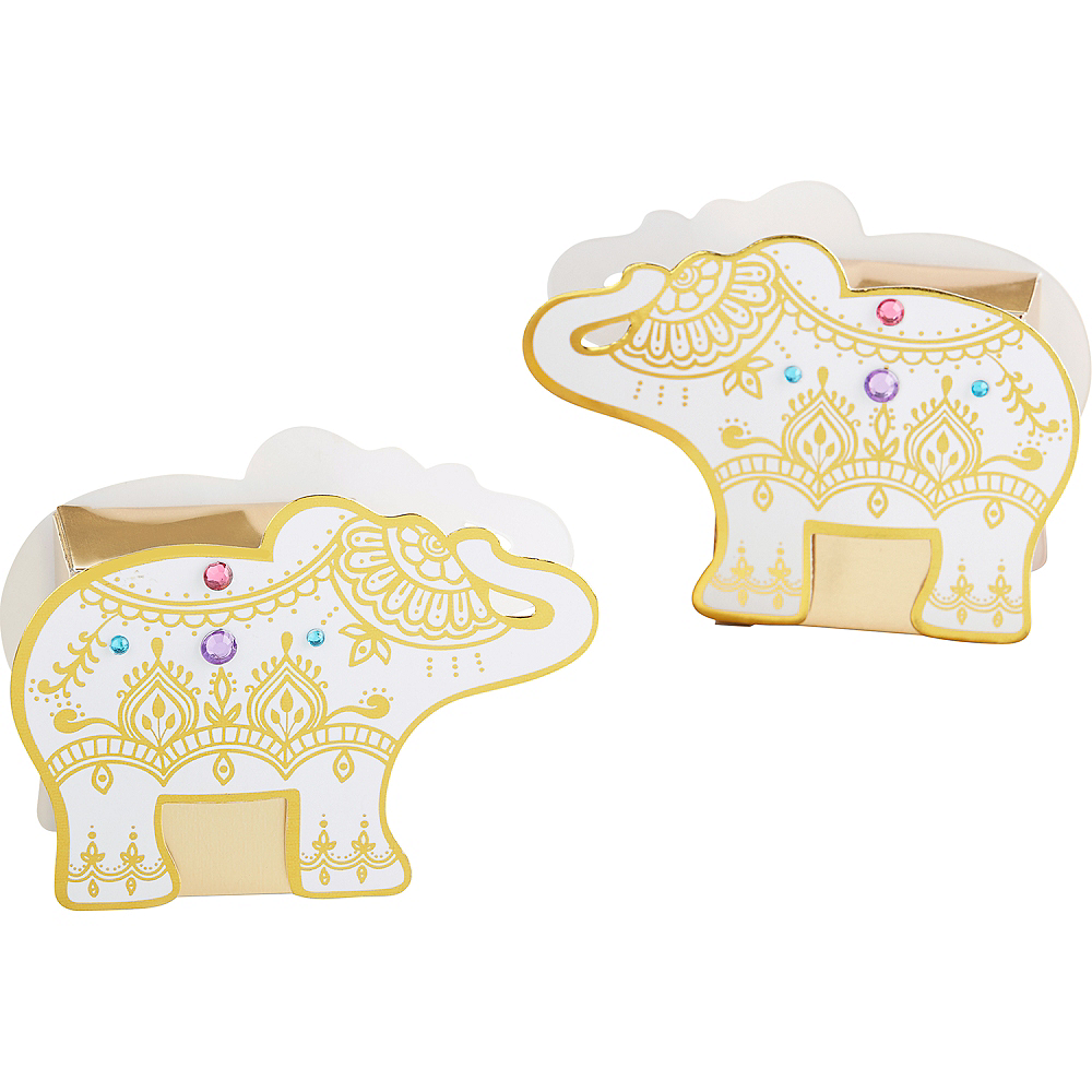 Lucky Elephant Treat Boxes 12ct Image #1