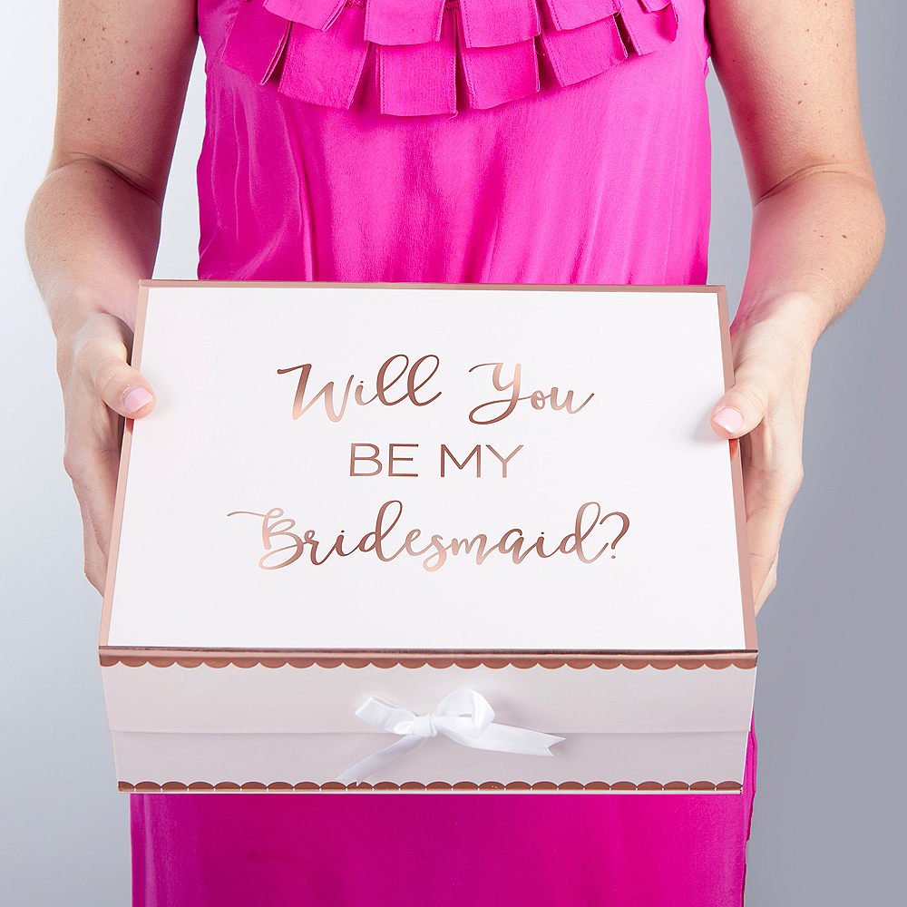 Pink Bridesmaid Gift Box Image #3