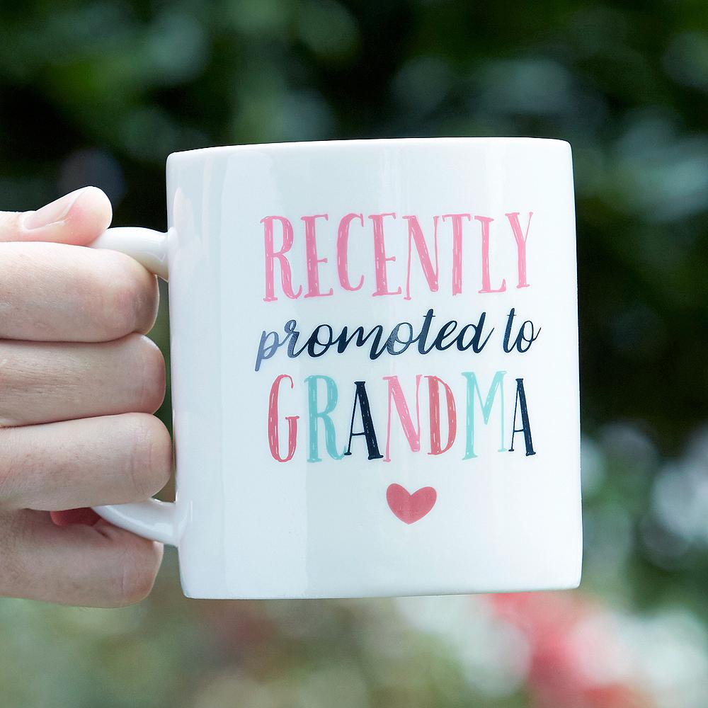 Promoted to Grandma Mug Image #1