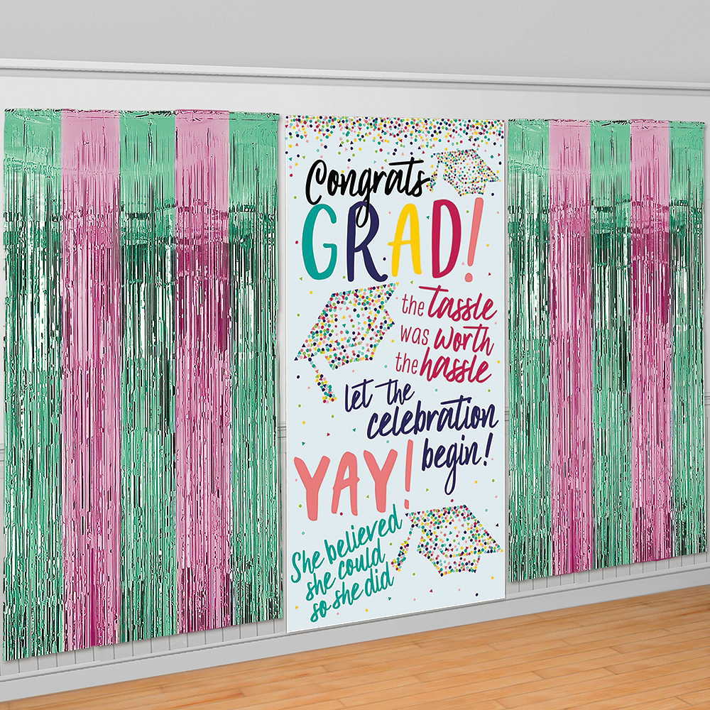 Congrats Grad Graduation Photo Booth Kit Image #2