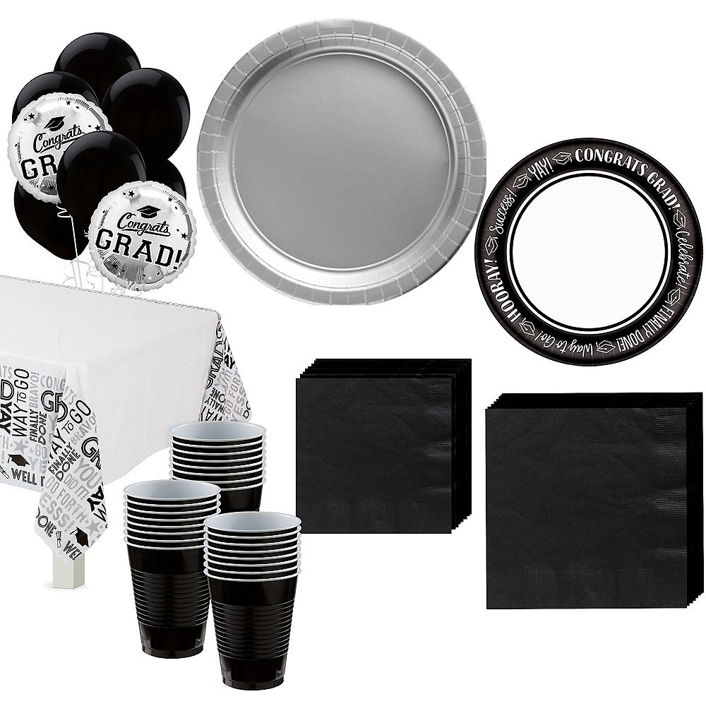 Celebrate Success Graduation Tableware Kit for 40 Guests Image #1
