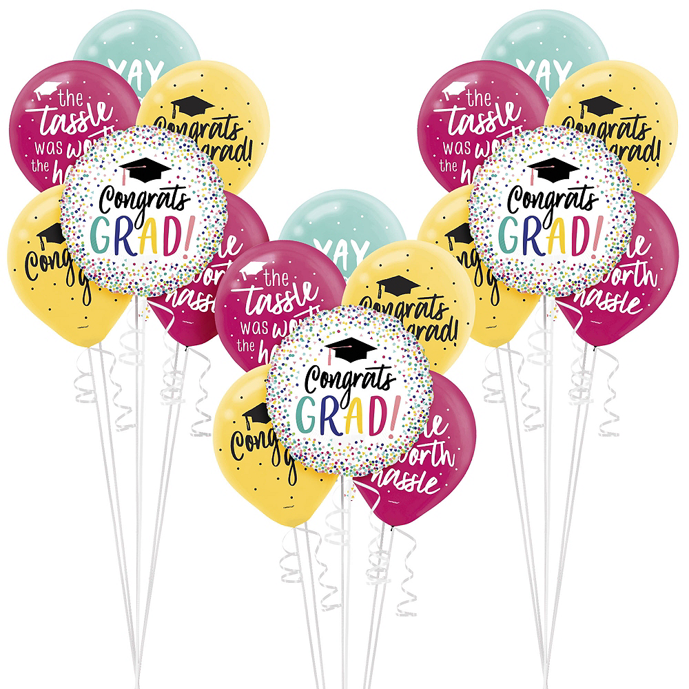 Nav Item for Yay Grad Graduation Balloon Kit Image #1