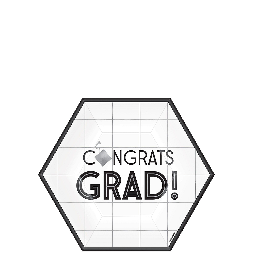 Grid Graduation Hexagon Tableware Kit for 36 Guests Image #2