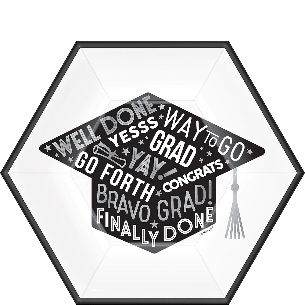 Grid Graduation Hexagon Tableware Kit for 36 Guests Image #3