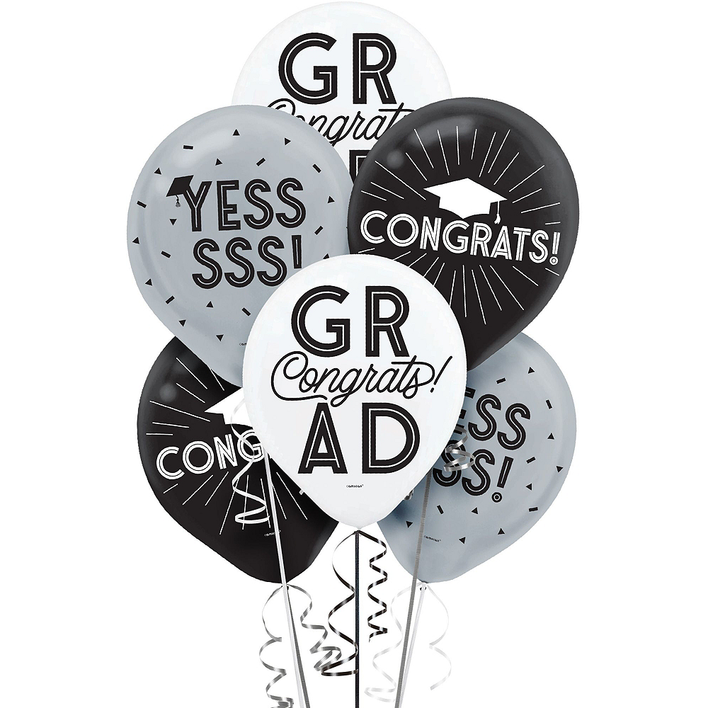 Grid Graduation Hexagon Room Decorating Kit Image #3