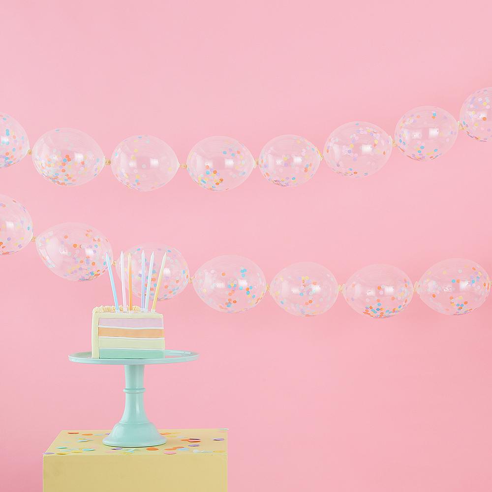 Ginger Ray Confetti Balloon Garland Image #1