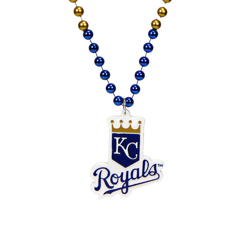 Kansas City Royals Pendant Bead Necklace Image #1