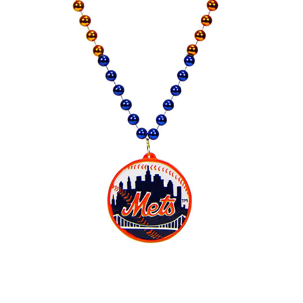 New York Mets Pendant Bead Necklace Image #1