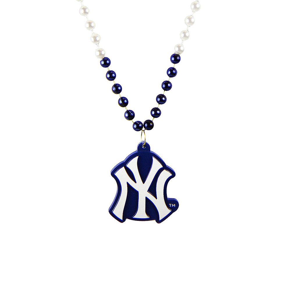 New York Yankees Pendant Bead Necklace Image #1
