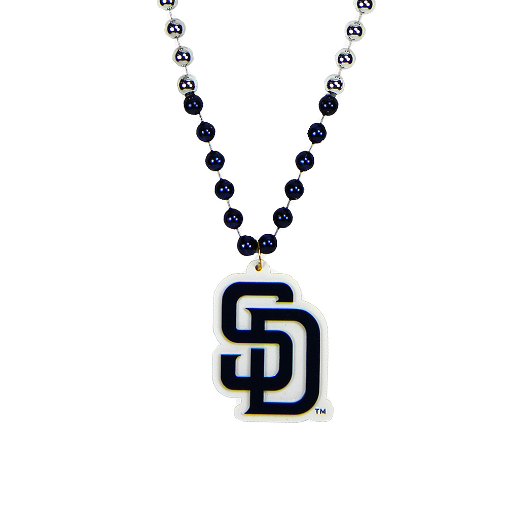 San Diego Padres Pendant Bead Necklace Image #1