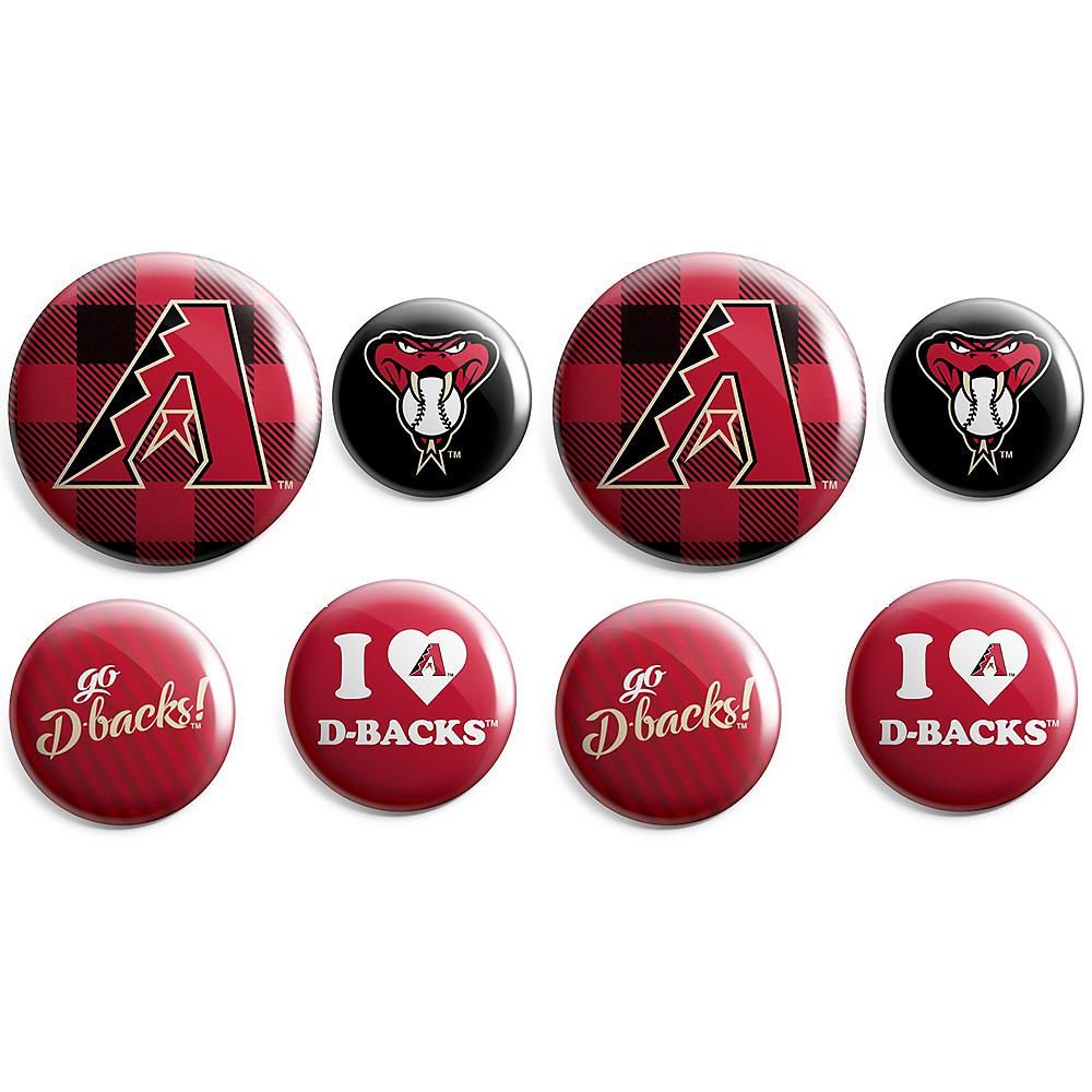 Arizona Diamondbacks Buttons 8ct Image #1