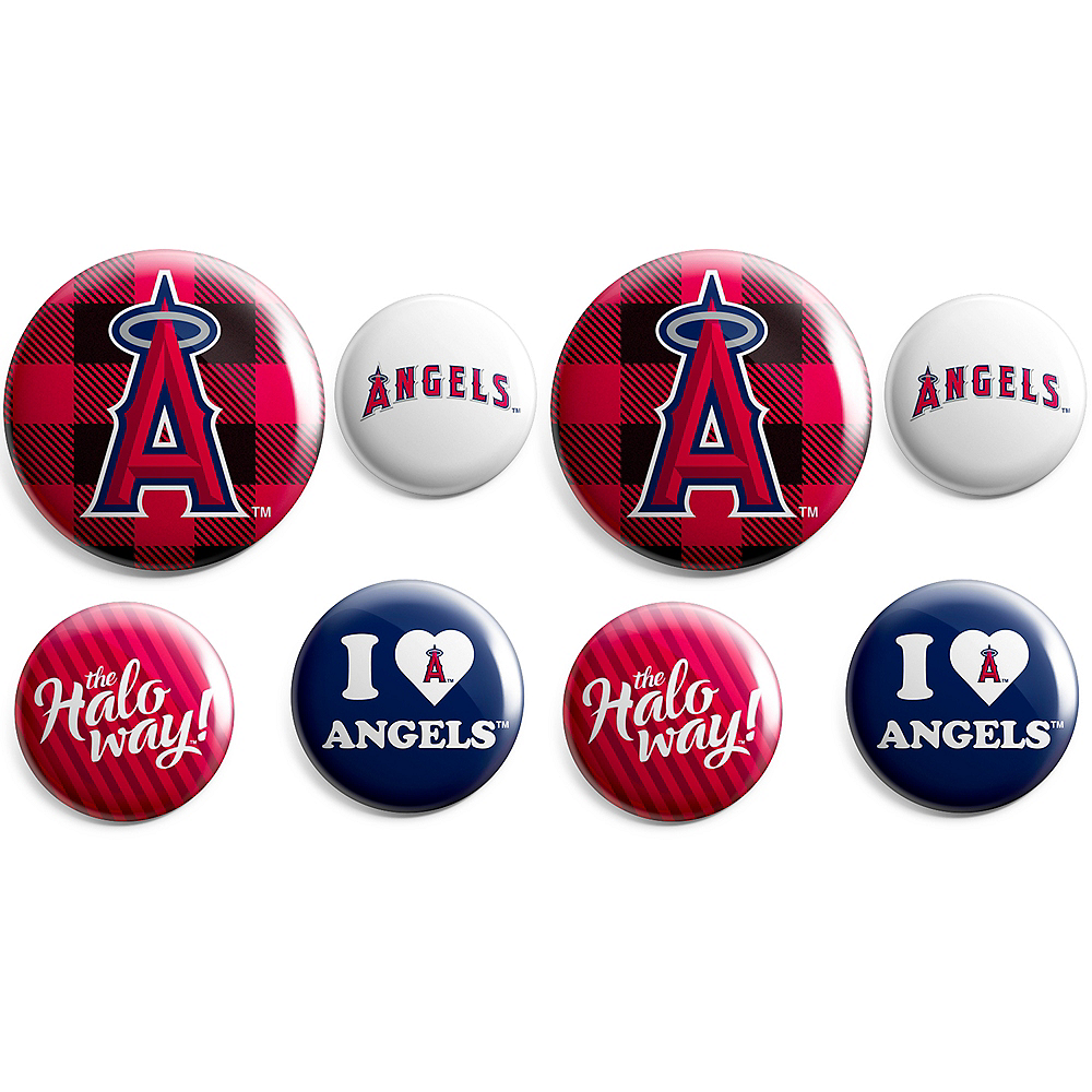 Los Angeles Angels Buttons 8ct Image #1
