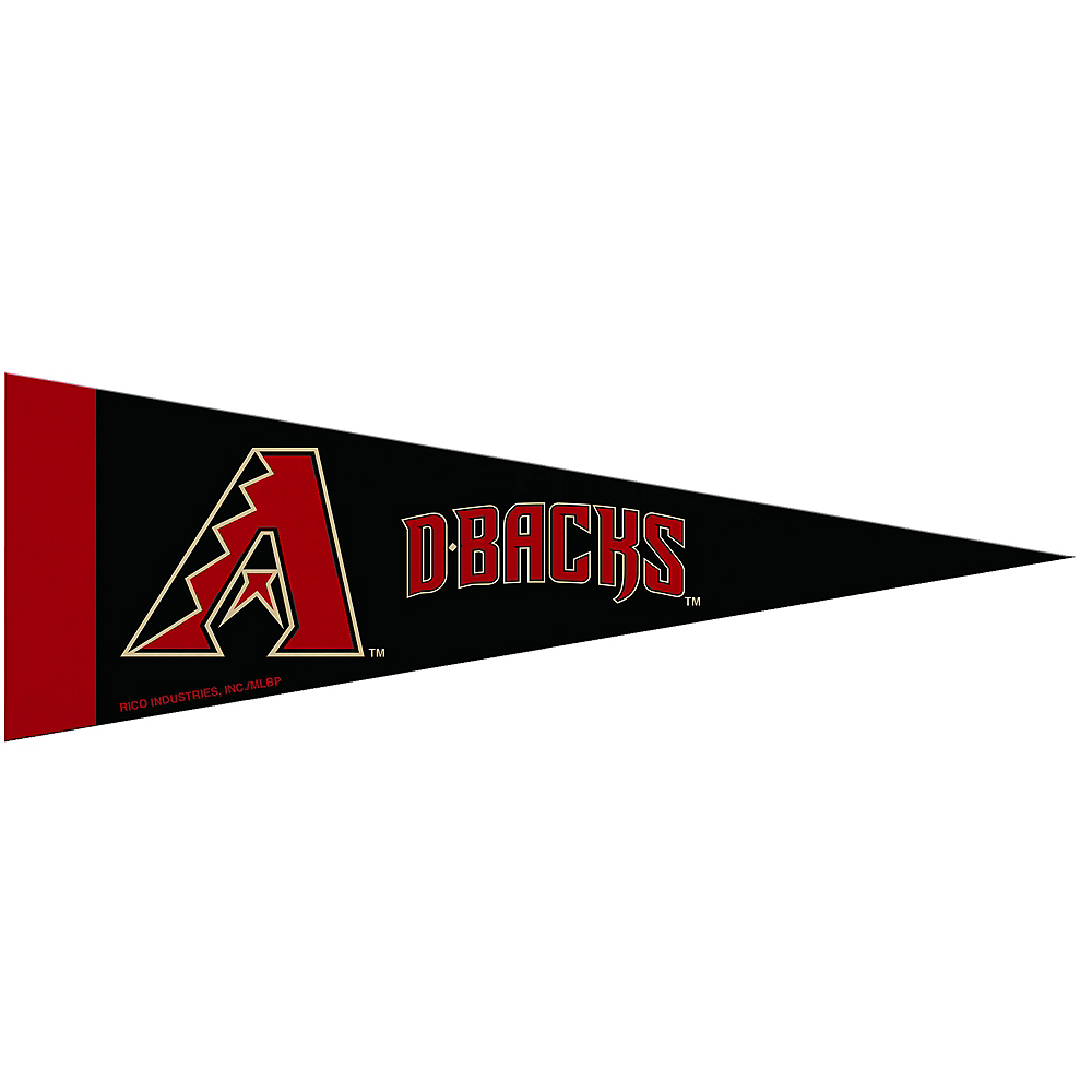 Small Arizona Diamondback Pennant Flag Image #1
