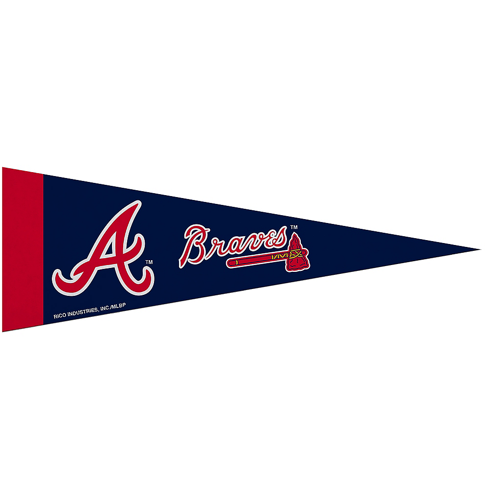 Small Atlanta Braves Pennant Flag Image #1