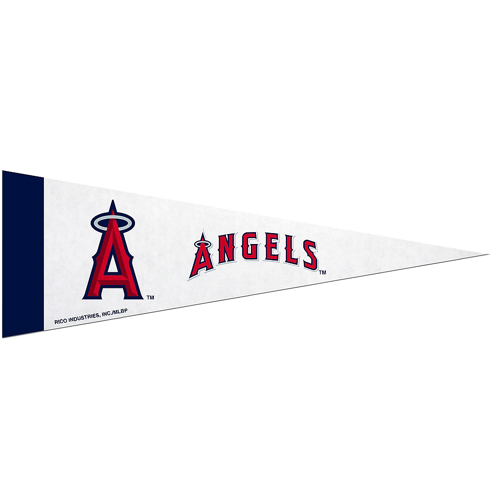 Nav Item for Small Los Angeles Angels Pennant Flag Image #1