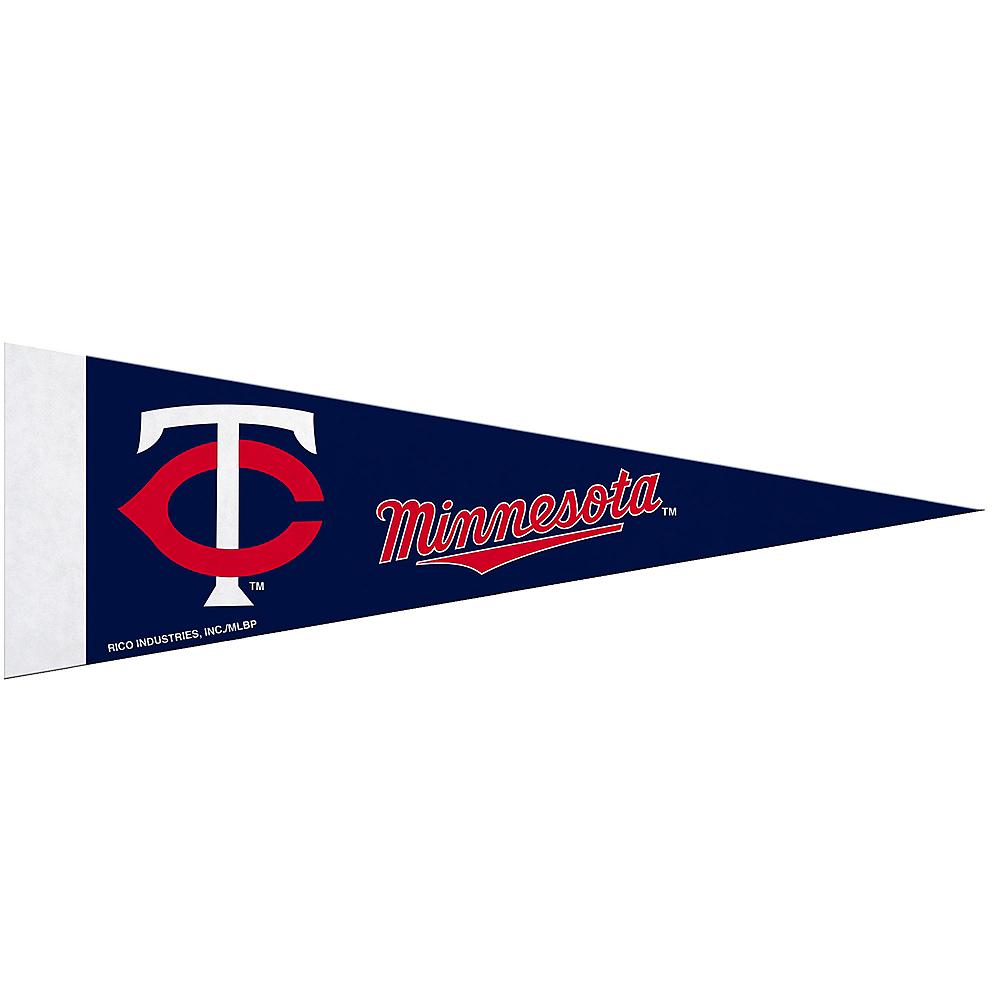 Small Minnesota Twins Pennant Flag Image #1