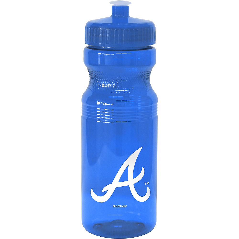 Atlanta Braves Water Bottle Image #1