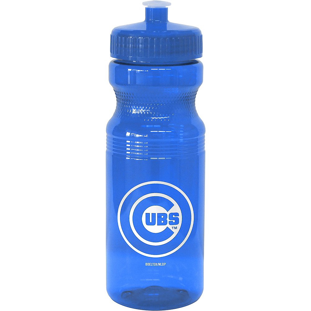 Chicago Cubs Water Bottle Image #1