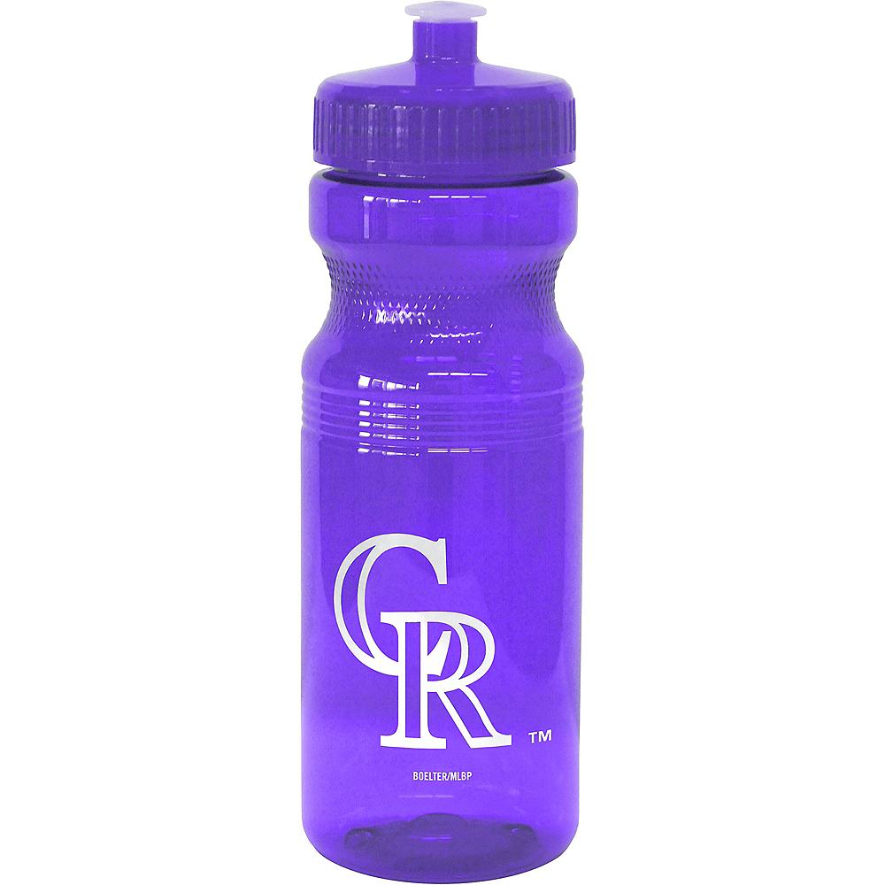 Colorado Rockies Water Bottle Image #1