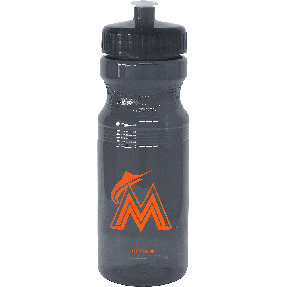 Miami Marlins Water Bottle Image #1