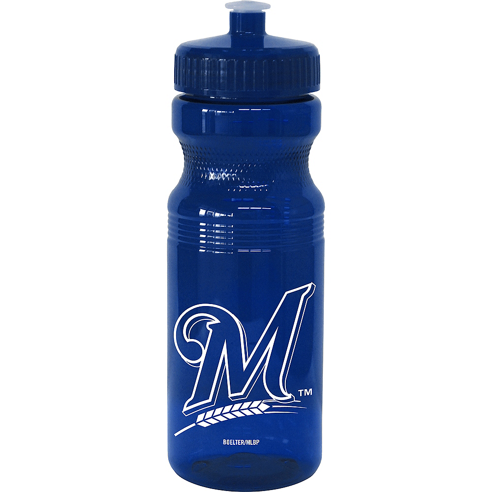 Milwaukee Brewers Water Bottle Image #1