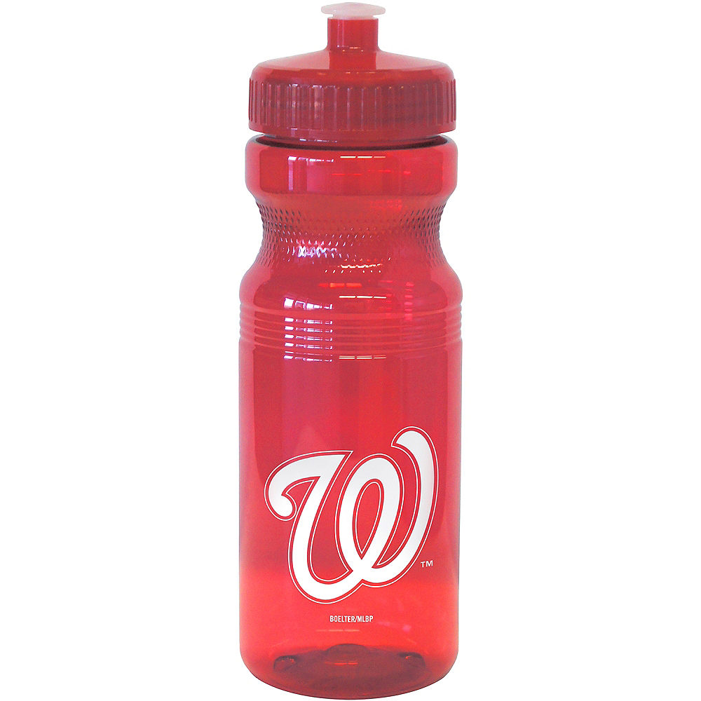 Washington Nationals Water Bottle Image #1
