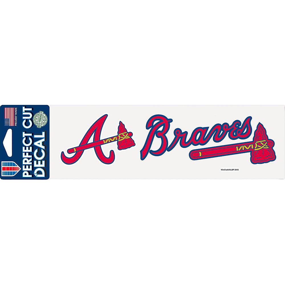 Atlanta Braves Decal Image #1