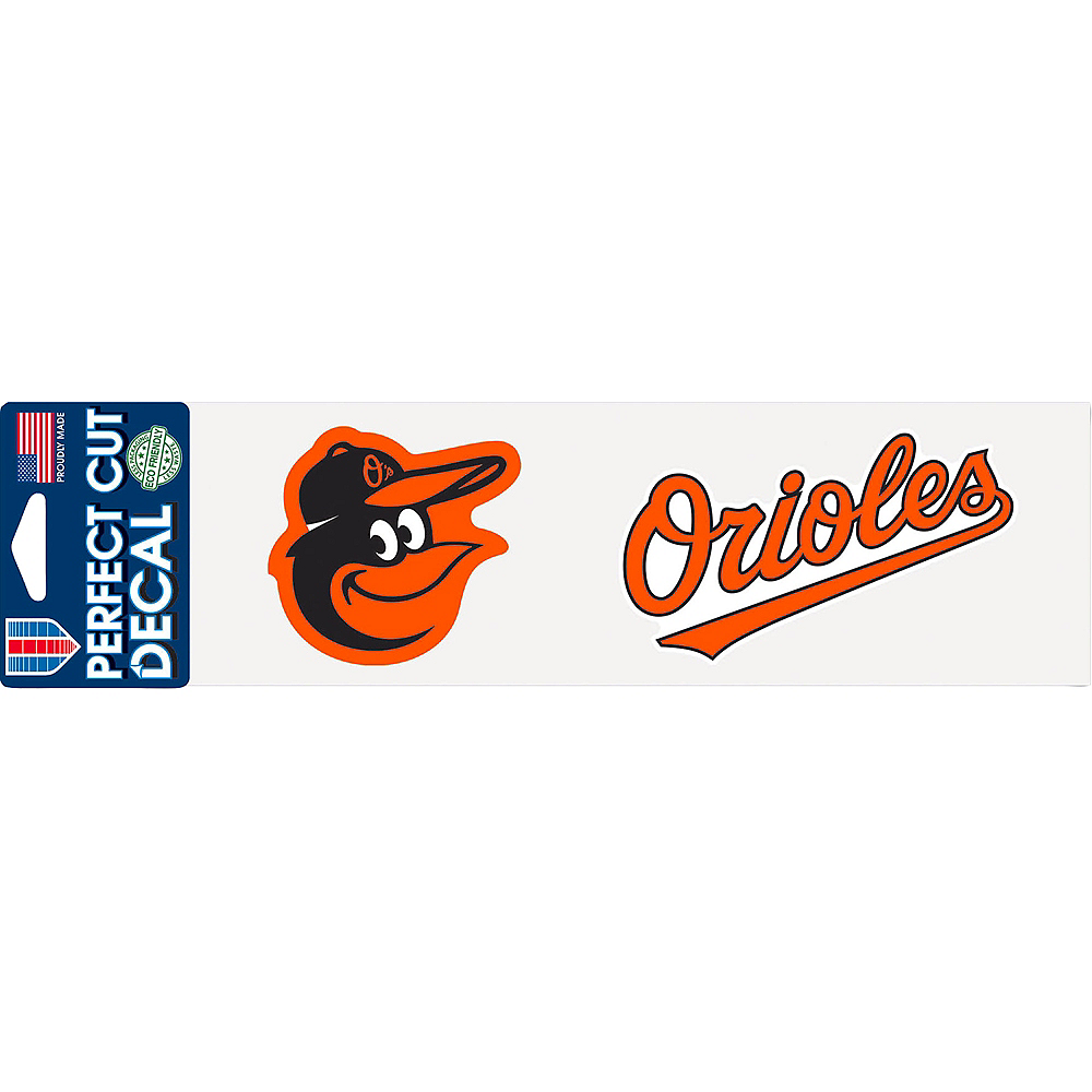 Baltimore Orioles Decal Image #1