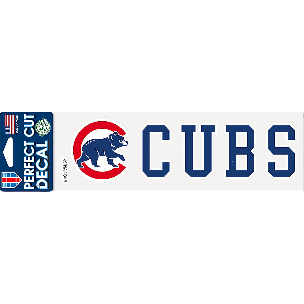 Chicago Cubs Decal Image #1