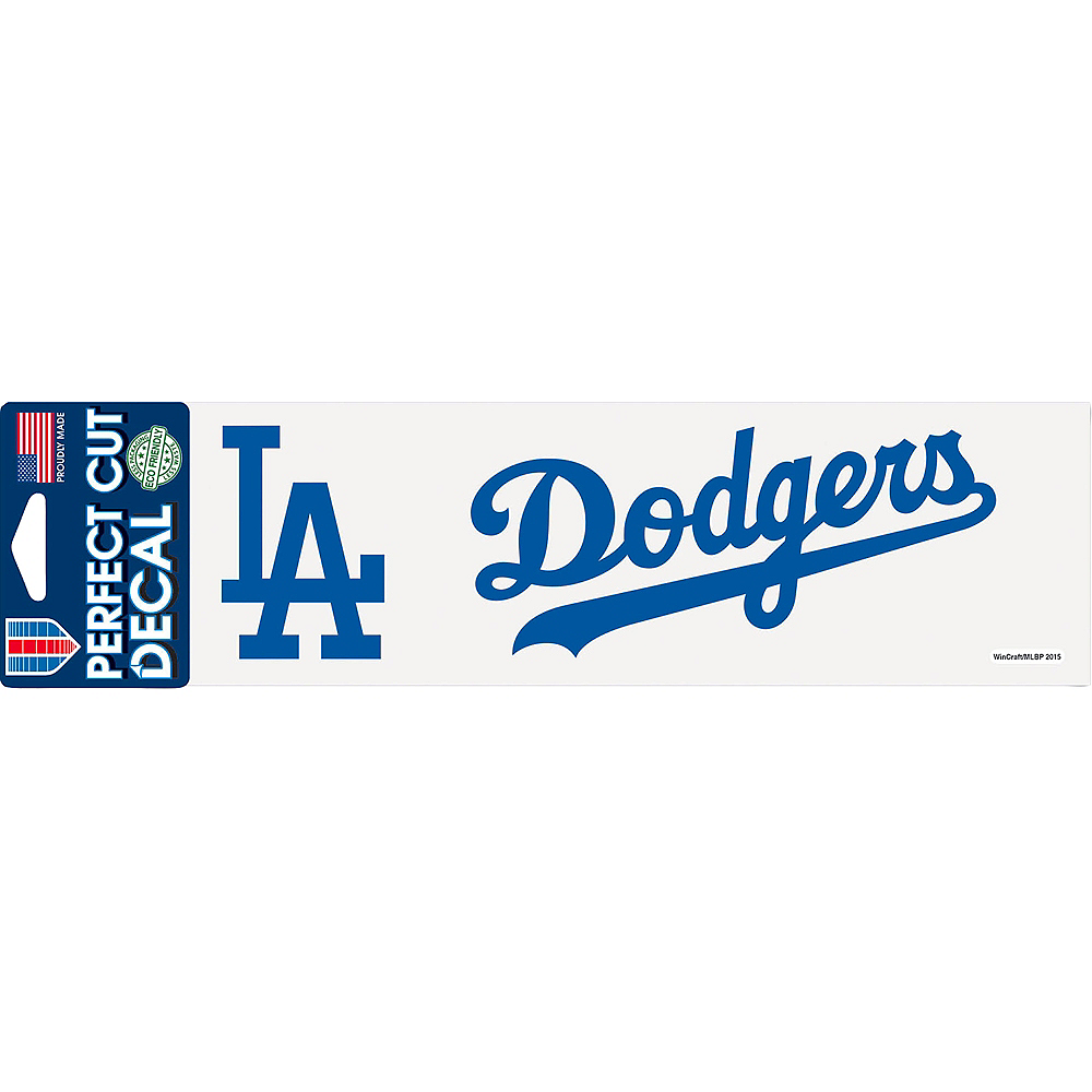 Los Angeles Dodgers Decal Image #1