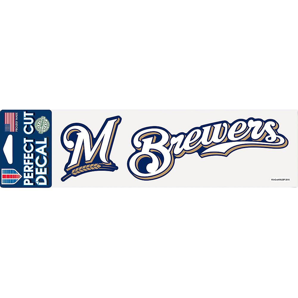 Milwaukee Brewers Decal Image #1