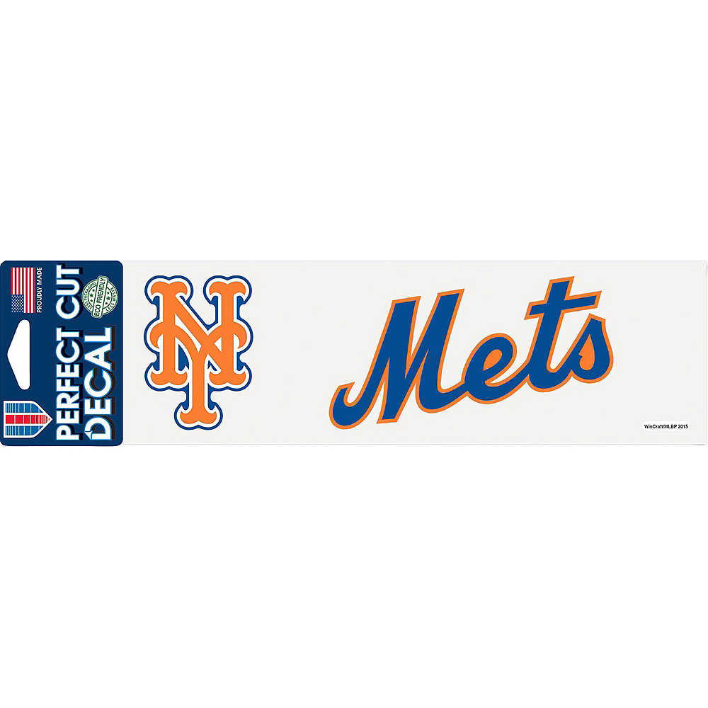 New York Mets Decal Image #1