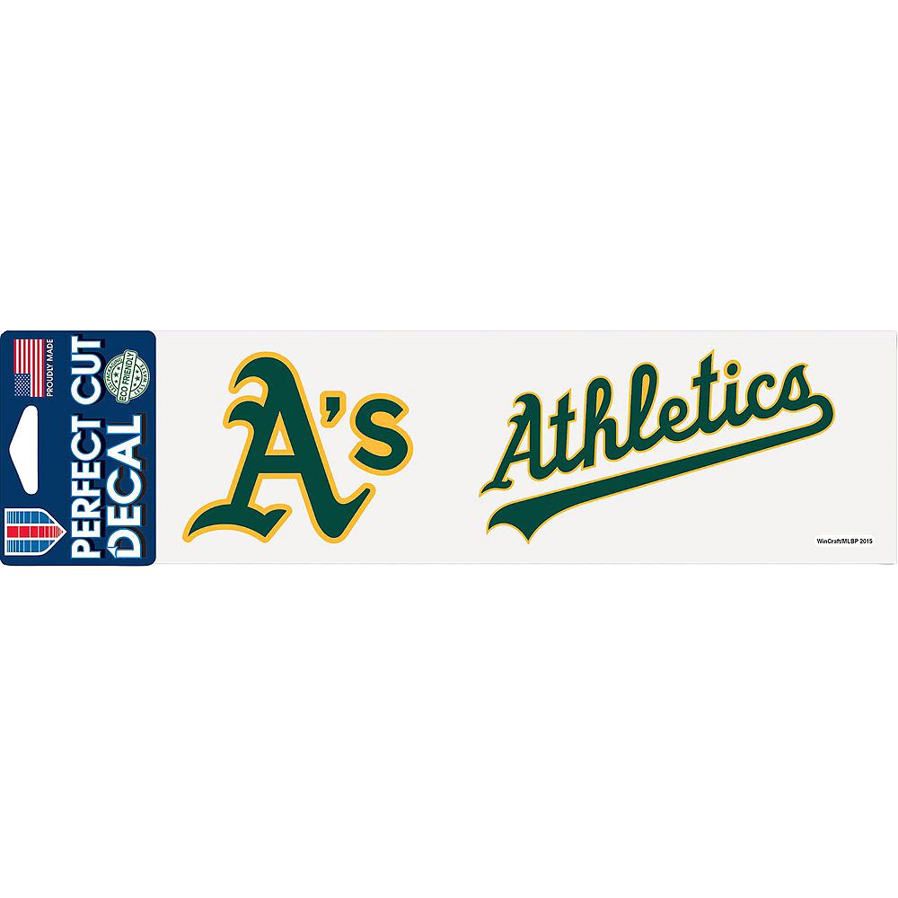 Oakland Athletics Decal Image #1